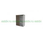 Стеллаж средний с раздвижной дверью Activa AC407