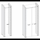 Декоративные боковые панели высоких шкафов