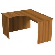 А014 стол эргономичный угловой L 1400/1200/750мм