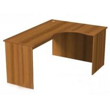 А018 стол эргономичный угловой R 1200/1600/750мм